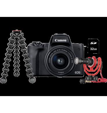 CANON EOS M50mkII+15-45 Vlogger kit