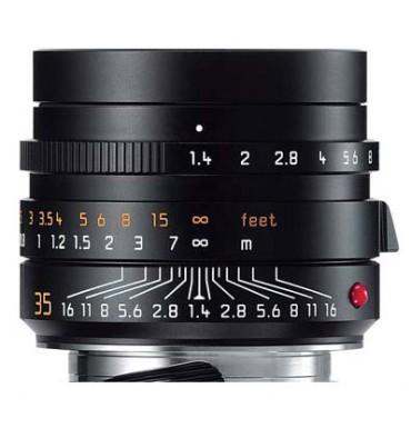 LEICA SUMMILUX-M 35mm 1,4 ASPH black anodized