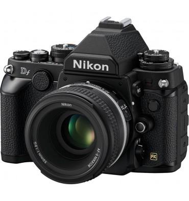 NIKON DF BLACK KIT + AF-S 50 1.8