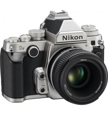NIKON DF SILVER kit + AF-S 50 1,8