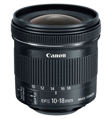 CANON EF-S 10-18 4,5-5,6 IS STM