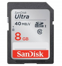 SANDISK SD 8GB ultra  40mb/s