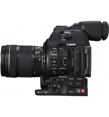 CANON EOS C100 MKII +EF-S 18-135   STM