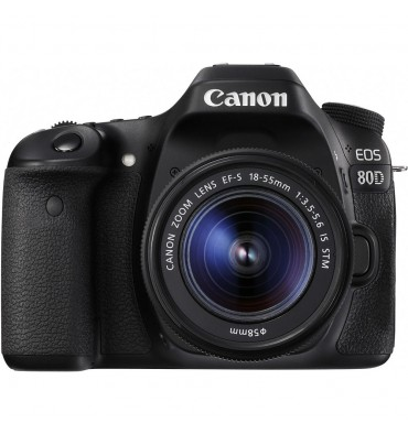 CANON EOS 80D kit 18- 55 IS STM