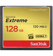 SANDISK CF 128GB 120mb/s  extreme