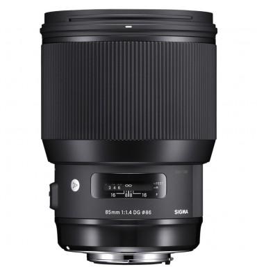 SIGMA 85mm 1,4 DG HSM art  Canon