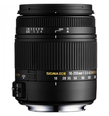 SIGMA 18-250 3,5-5,6 OS  Nikon