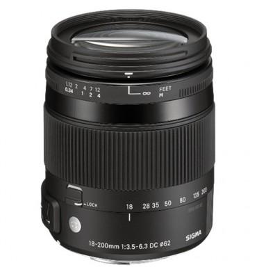 SIGMA 18-200 3,5-6,3  Nikon