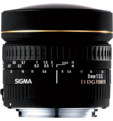 SIGMA 8 f/3,5 fisheye- canon
