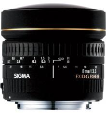 SIGMA 8 F/3,5 fisheye  Nikon
