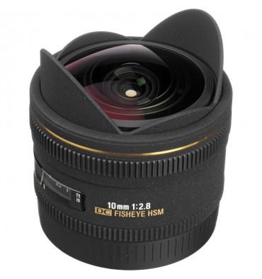SIGMA 10 f/2,8 fisheye  Canon