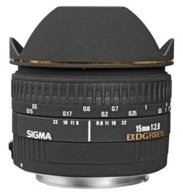 SIGMA 15 f/2,8 fisheye  Canon