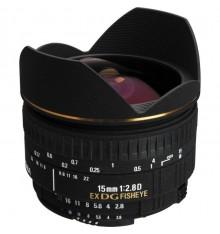 SIGMA 15 f/2,8 fisheye  Nikon