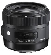 SIGMA 30 f/1,4 Art  Canon