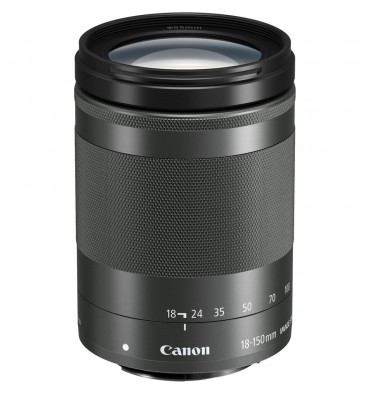 CANON EF-M 18-150 3,5-6,3 IS STM črn
