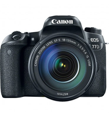 CANON EOS 77D kit 18-135 IS USM