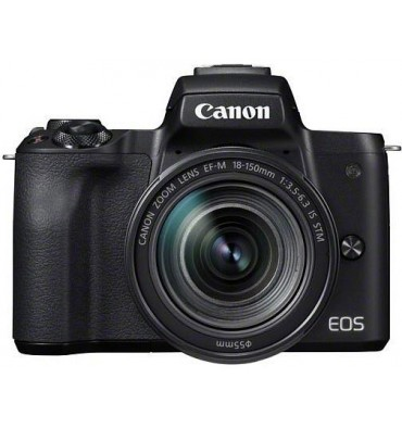 CANON EOS M50 kit 18-150 IS STM črn