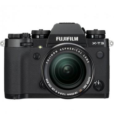 FUJI X-T3 črn + XF 18-55 f/2,8-4