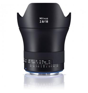ZEISS Milvus 2,8/18 ZE Canon