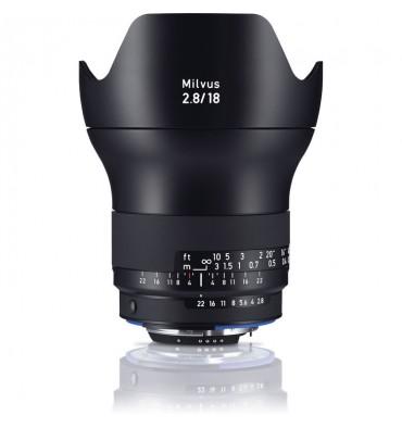 ZEISS Milvus 2,8/18 ZF.2 Nikon