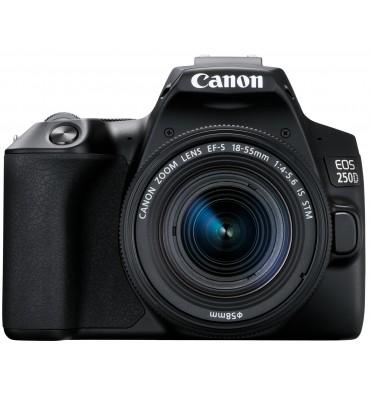 CANON EOS 250D kit 18-55 IS črn