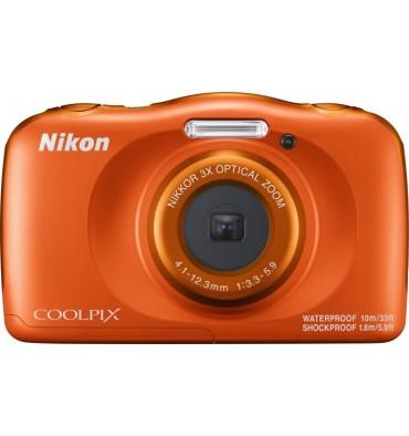 NIKON coolpix W150 oranžen