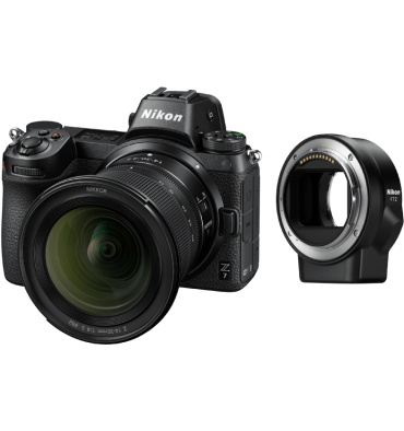 NIKON Z7 kit 14-30 f/4 + adapter