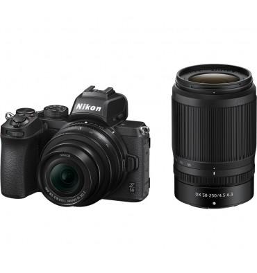 NIKON Z50 kit DX 16-50mmVR+ DX50-250mmVR