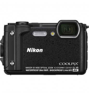 NIKON coolpix W300 črn Holiday kit