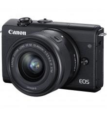 CANON EOS M200 kit 15-45 IS STM črn