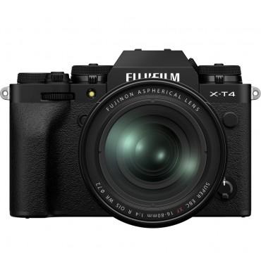FUJI X-T4 kit 16-80 f/4 OIS WR