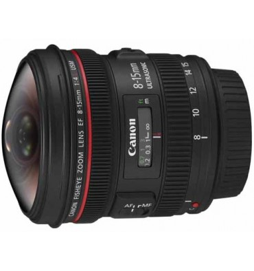 CANON EF 8-15mm 4L fisheye