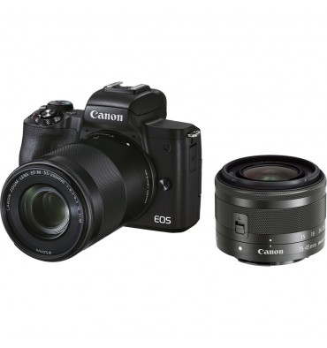 CANON EOS M50mkII kit 15-45 + 55-200 IS STM