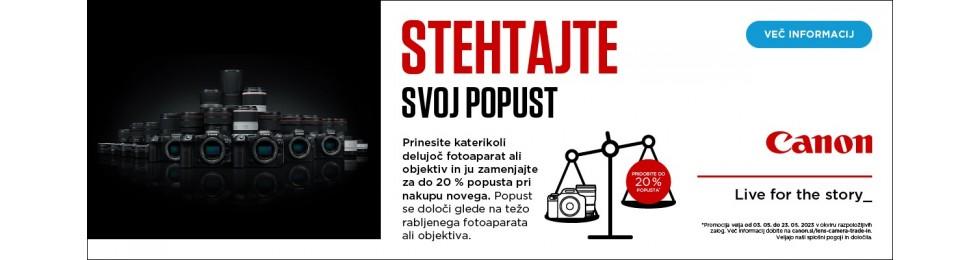 Canon akcija EOS R/RP